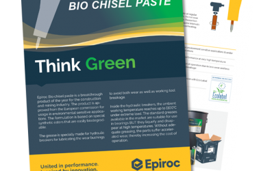 Epiroc Bio Chisel Paste Outperforms Expectations.